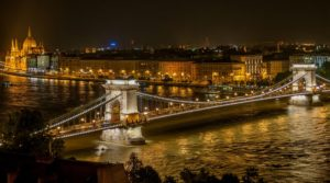 Széchenyi Chain Bridge: Budapest, Hungary