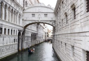 Bridge of Sighs: Venice, Italy