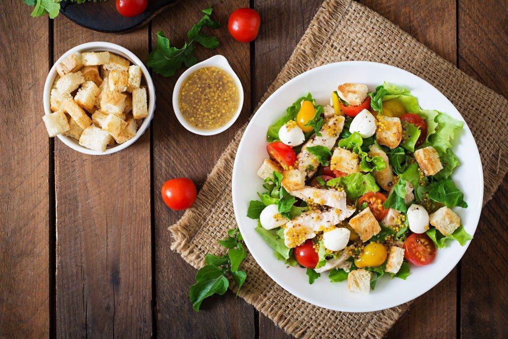 Organic Food Serving