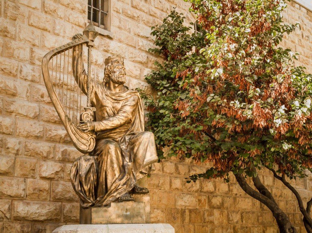 Statue in Jerusalem