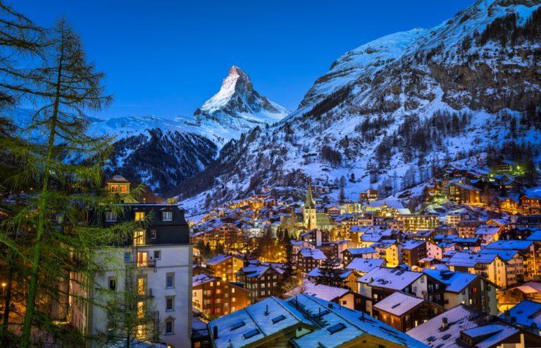 Matterhorn peak at dawn